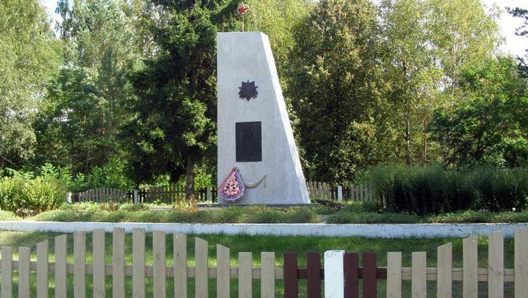 д. Павлово Слонимского р-на. Братская могила советских воинов.