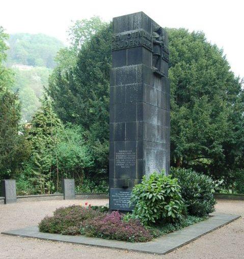 г. Бад Эмс. Памятник землякам, погибшим во время обеих мировых войн.