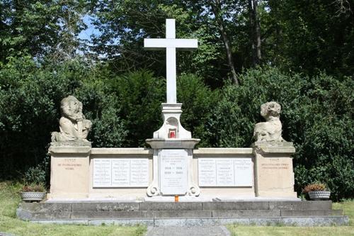 г. Берг-Висшель. Памятник землякам, погибшим во время обеих мировых войн.