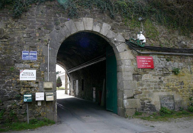 Сооружения форта «Portzic».