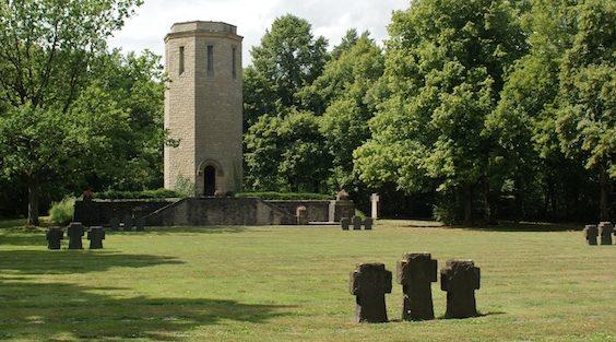 г. Битбург. Военное кладбище, где похоронено 2 тысячи воинов.