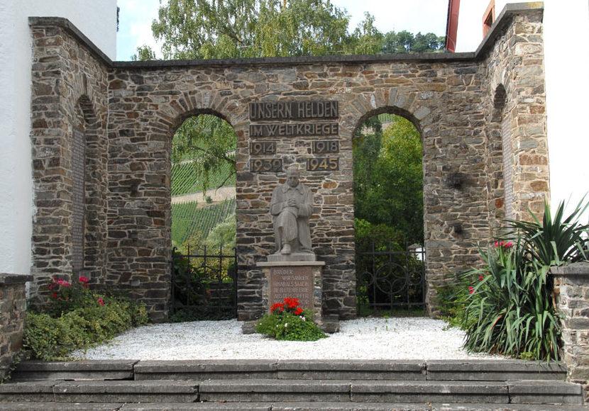 Коммуна Браунеберг. Памятник землякам, погибшим во время обеих мировых войн.