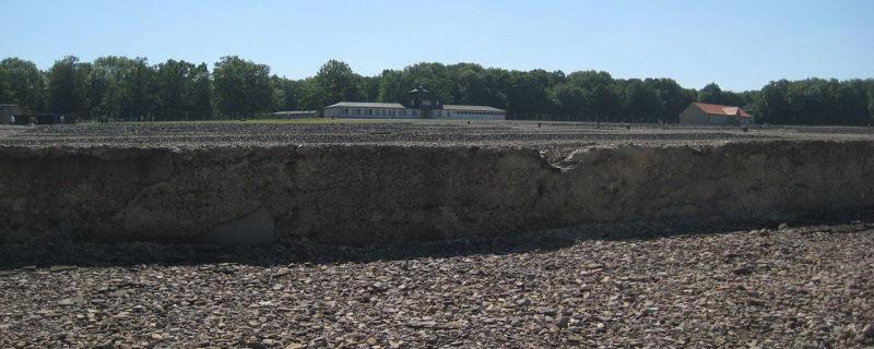 Общий вид Бухенвальдского мемориала.