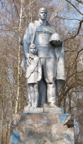 д. Майское Жлобинского р-на. Памятник советским воинам.