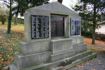 Коммуна Вальдлауберсхайм. Памятник землякам, погибшим во время обеих мировых войн.