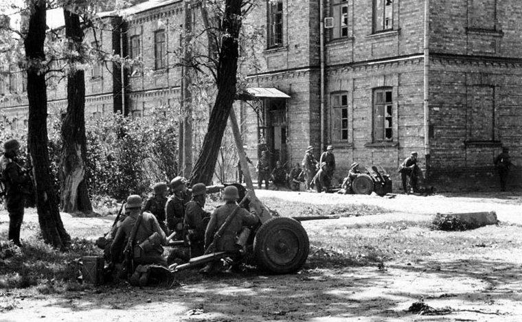 Немцы в обороне. Февраль 1943 г.