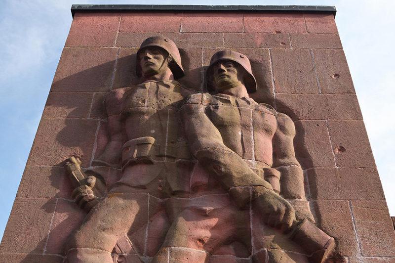 г. Вильгартсвизен. Мемориал павшим немецким солдатам.