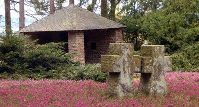 г. Герольштайн. Немецкое военное кладбище, где похоронены воины, погибшие во время обеих мировых войн.