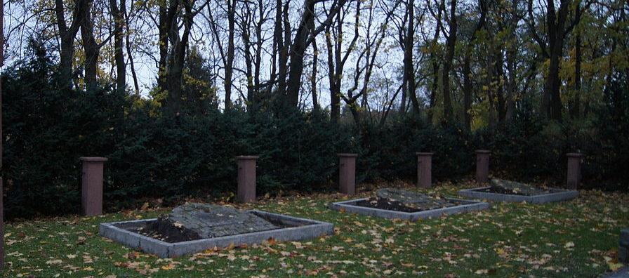 г. Франкфурт район Боосен. Советское воинское кладбище.
