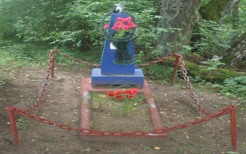 д. Бибки Сморгонского р-на. Памятник на братской могиле.