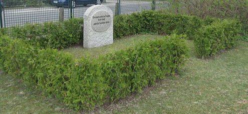 г. Фридрихсталь. Памятник на братской могиле польских солдат.