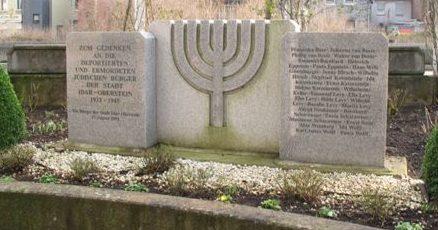 г. Идар-Оберштайн. Памятник жертвам Холокоста.