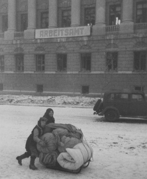 Город после освобождения. Февраль 1943 г.