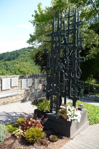 г. Мандершайд. Памятник землякам, погибшим во время Второй мировой войны.