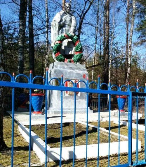 Светлогорский р-н. Памятник советским воинам в зоне отчуждения.