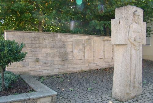 Коммуна Обероттербах. Памятник землякам, погибшим во время обеих мировых войн.