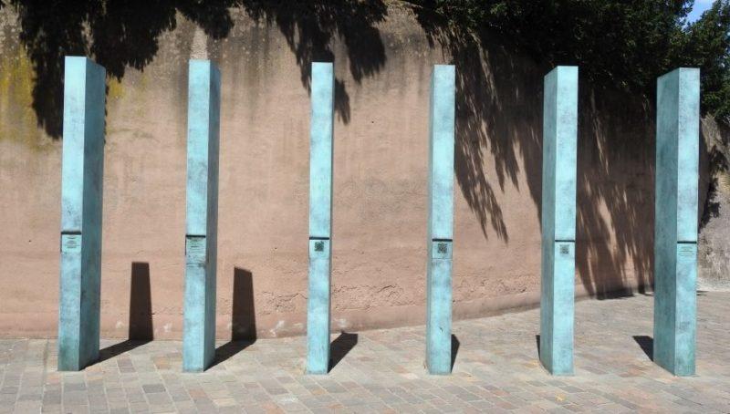 г. Трир. Памятник цыганам, которые были убиты национал-социалистами.