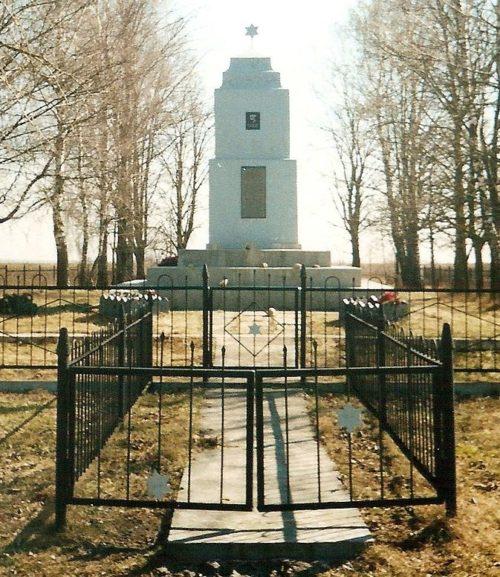 д. Желудок Щучинского р-на. Памятник погибшим евреям.