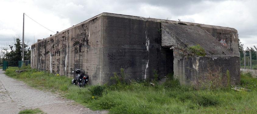 ДОТы и бункеры в окрестностях города.