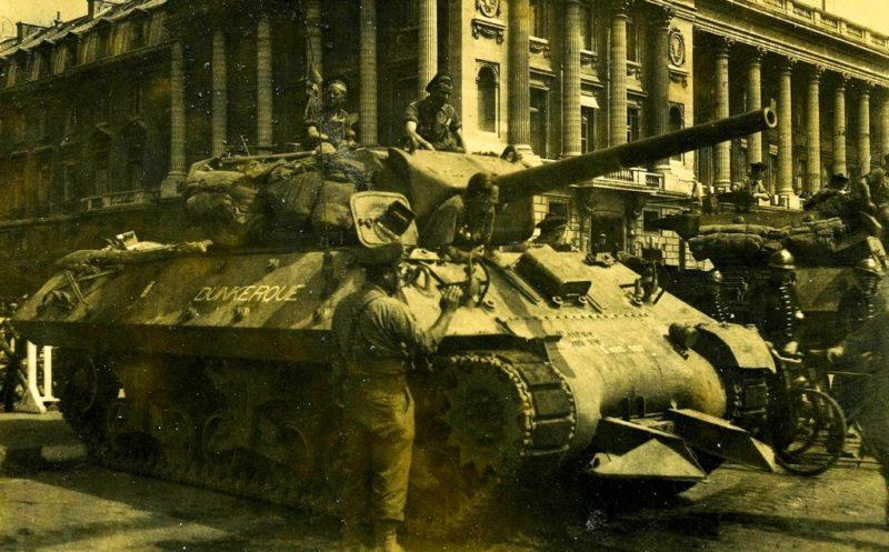 Освобождение Дюнкерка. Май 1945 г.