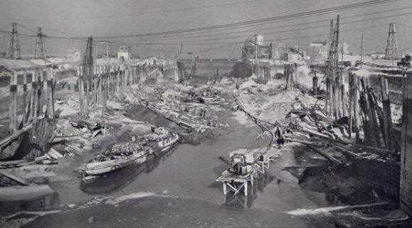 Порт после освобождения Дюнкерка. Май 1945 г.