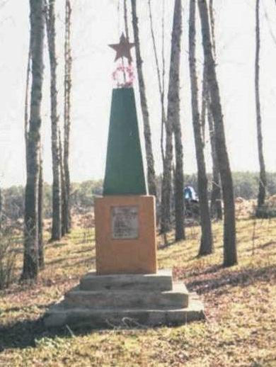 д. Малинники Щучинского р-на. Памятник погибшим землякам.