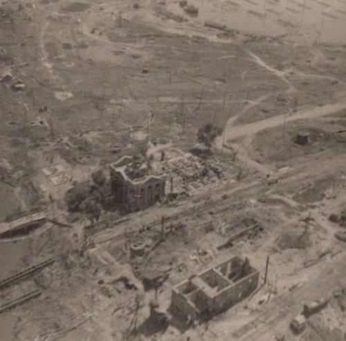 Немецкая аэрофотосъемка города. Весна 1943 г.