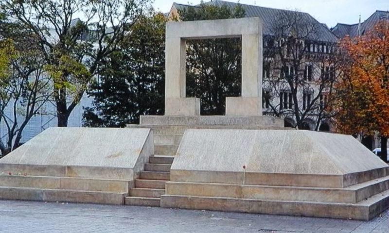 г. Ганновер. Мемориал жертвам холокоста.