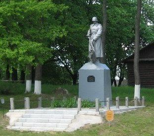 д. Покоть Чечерского р-на. Памятник, погибшим в годы войны.
