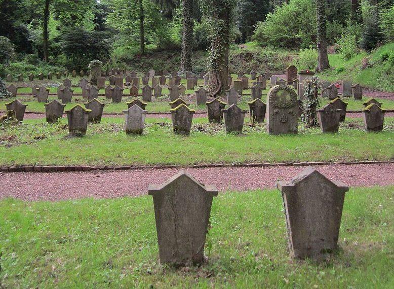 г. Саарбрюкк. Памятники жертвам обеих мировых войн.