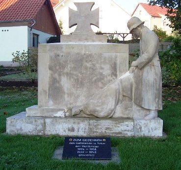 Комуна Фрауэнзее. Памятник землякам, погибшим в годы обеих мировых войн.