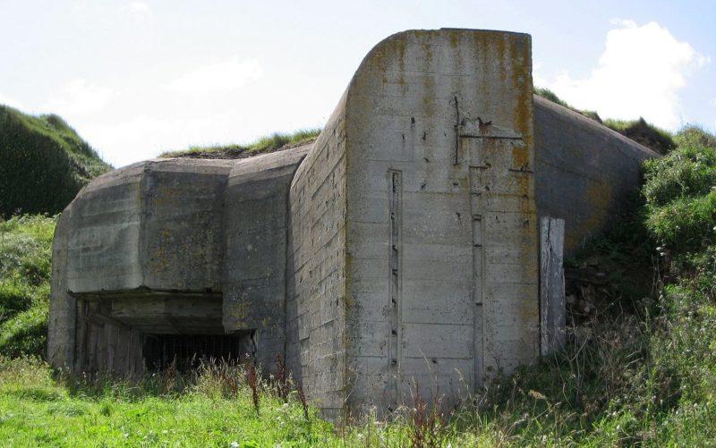 Один из артиллерийских казематов.