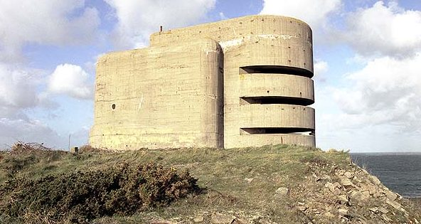 Наблюдательная башня береговой артиллерии MP3.