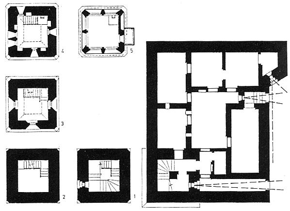 План бункера Люфтваффе.
