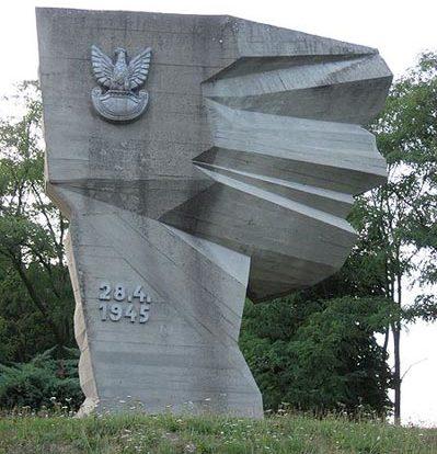 г. Баутцен. Памятник, посвященный 18 232 польским солдатам 2-й польской армии, погибшим в апреле 1945 года.