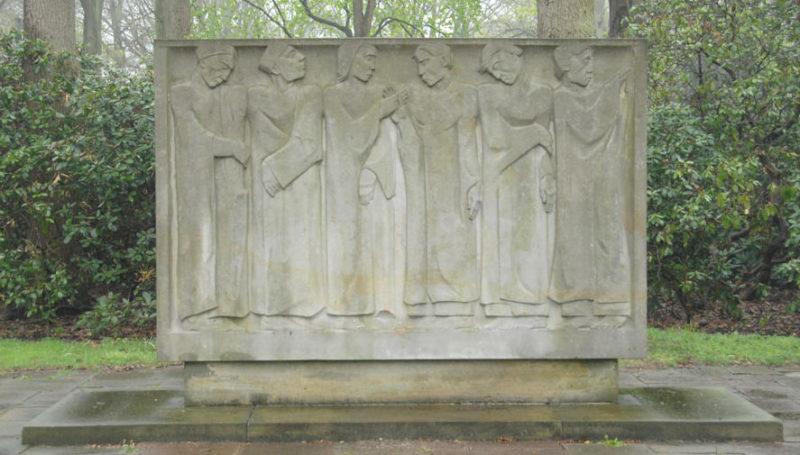 Памятник подневольным голландским рабочим.