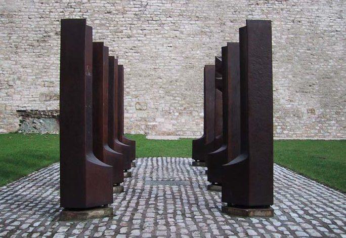 г. Эрфурт. Памятник неизвестным дезертирам Вермахта.