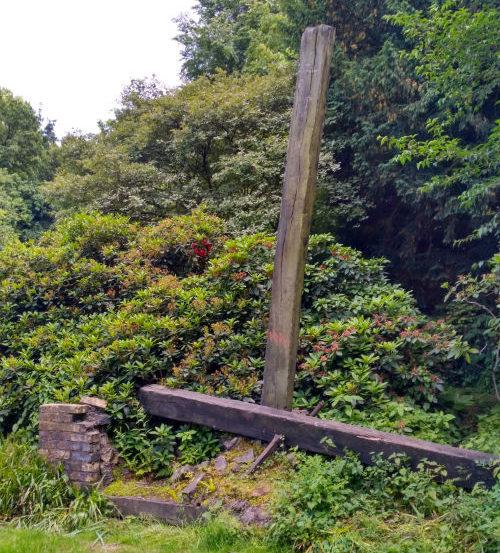 г. Бремен. Памятник, посвященный резне в Лидице в июне 1942 года, где погибло 340 мирных жителей.