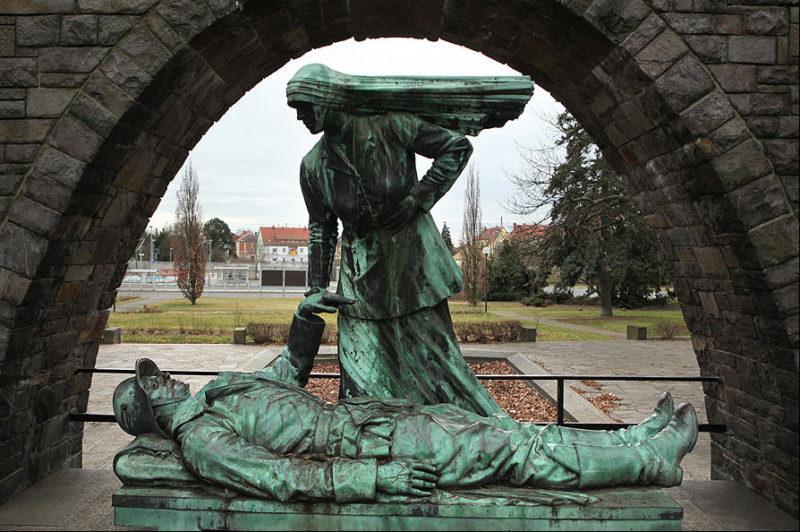 г. Вурцен. Мемориал павшим немецким солдатам.