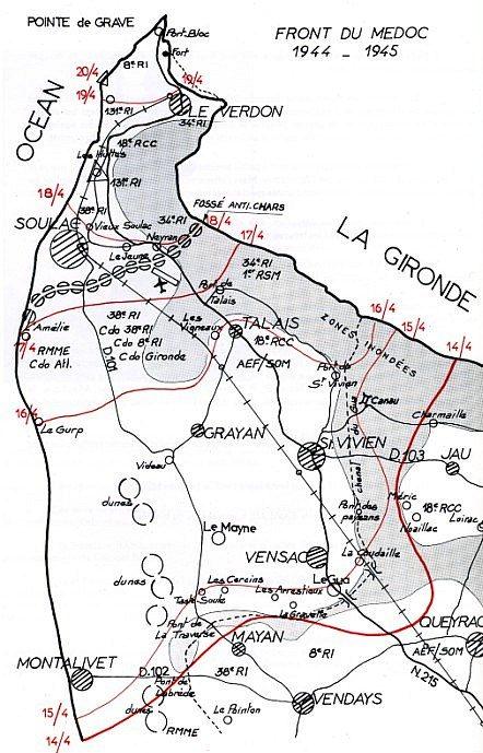 План-схема укреплений крепости.