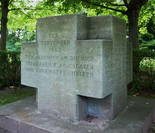 г. Лангенхаген. Памятник погибшим солдатам ПВО.