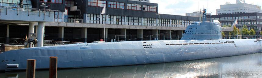 г. Бремерхафен. Памятник-музей подлодка U-2540 «Вильгельм Бауэр».