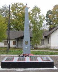 д. Мижеричи Зельвенского р-на. Памятник землякам, погибшим в годы войны.