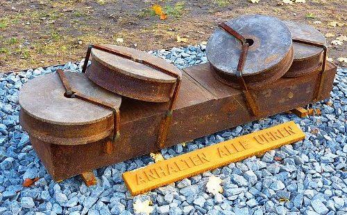 г. Лангенхаген. Памятник жертвам психиатрии во время национал-социализма.
