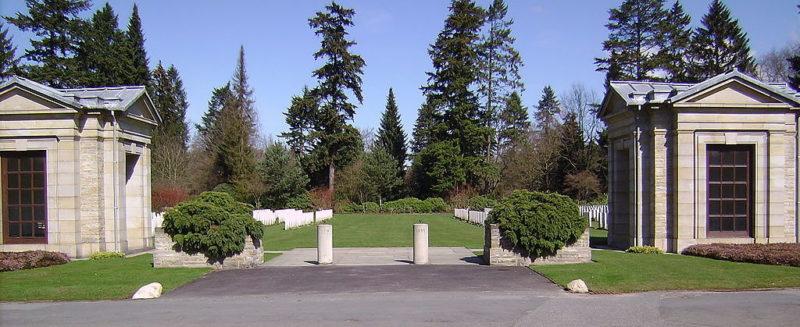 Вход на кладбище Ольсдорф.