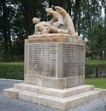 Коммуна Лоруп. Памятник землякам, погибшим в годы обеих мировых войн.