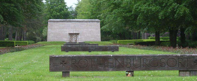 Памятник жертвам огненной бури в Гамбурге.