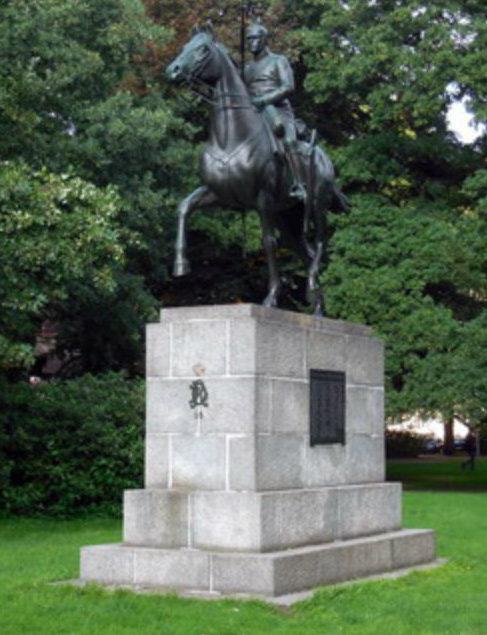 г. Люнебург. Памятник жертвам обеих мировых войн.