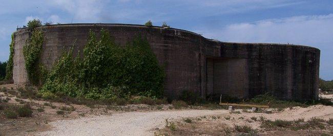 Вспомогательные сооружения крепости.