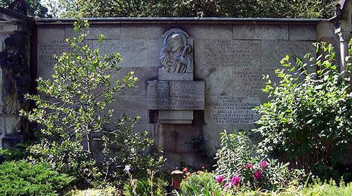 г. Дрезден. Памятник в честь погибших священников.